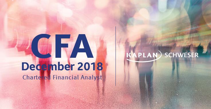 2018 CFA® Level I 考試報名費、註冊費及截止日期一覽