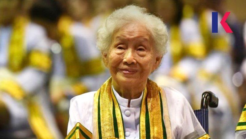 人生學無止境 泰國婆婆91歲圓夢 成當地最年長的大學生