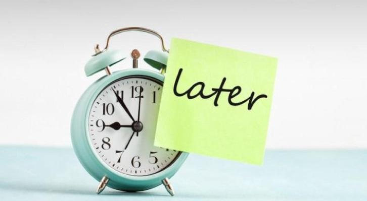 改掉拖延事情、偷懶的習慣 四個方法助你解決拖延症