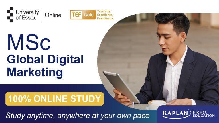 MSc Global Digital Marketing
